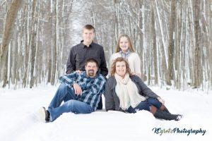 The Wallace Family (Paul, Corrina, Aidan, and Emersyn)