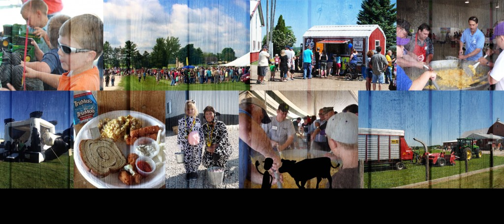 Breakfasts on the Farm in Kewaunee County Collage