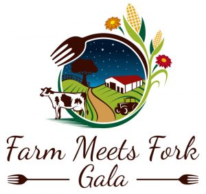 Farm Meets Fork Gala Logo - Kewaunee County Dairy Promotion Event