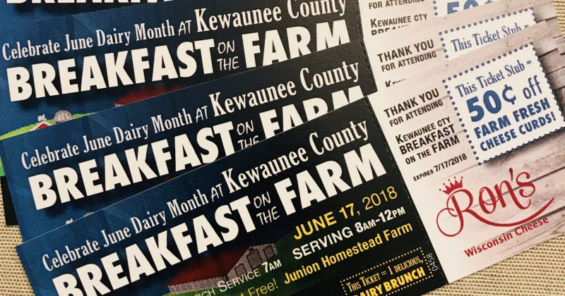 Pre-Purchase Breakfast on the Farm Tickets!