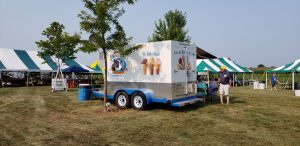 Sell Ice Cream: Little Red Barn & KCDP Cooler/Freezer for Rent